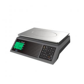Sertifikuotos belaidės elektroninės svarstyklės su metrologine patikra, ACLAS PS1B iki  30 kg svorio. Padalos vertė: 10 g. Platformos matmenys: 330x230 mm