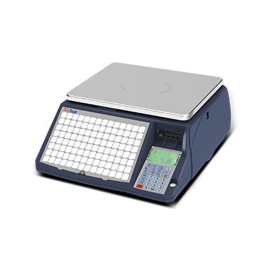 Sertifikuotos elektroninės lipdukinės svarstyklės su metrologine patikra ACLAS LS6NX iki 15 kg svorio. Platformos matmenys: 345x260mm