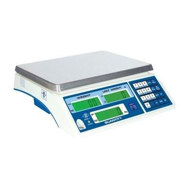 Sertifikuotos elektroninės vienetus skaičiuojančios svarstyklės su metrologine patikra FDH3-30 iki 30 kg svorio. Padalos vertė: 10g (padidinto tikslumo režime 1g)