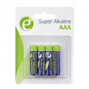 GEMBIRD AAA tipo LR03 šarminės baterijos - pakuotėje 4 vnt.