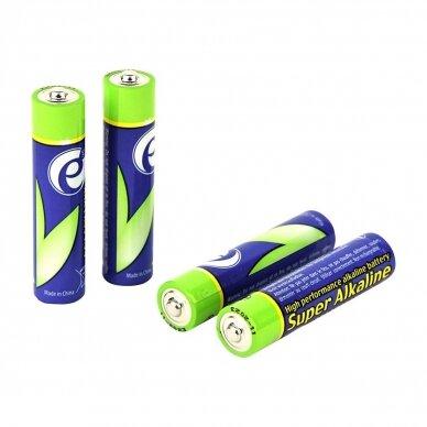 GEMBIRD AAA tipo LR03 šarminės baterijos - pakuotėje 4 vnt. 2