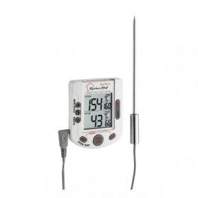 Skaitmeninis grilio-orkaitės termometras SU METROLOGINE PATIKRA BBQ TFA 14-1503
