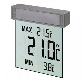 Skaitmeninis lauko termometras tvirtinamas prie lango TFA VISION