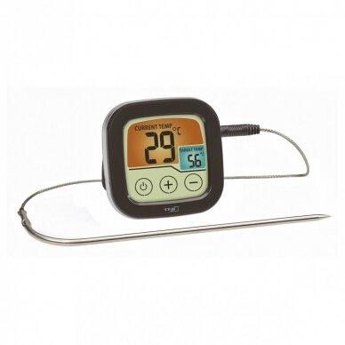 Skaitmeninis BBQ kepsnių ir grilio termometras SU METROLOGINE PATIKRA TFA