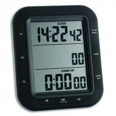 Skaitmeninis trijų intervalų laikmatis TRIPLE TIME XL TFA 38-2023 2