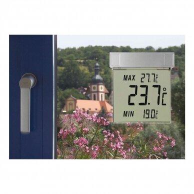 Skaitmeninis lauko termometras tvirtinamas prie lango TFA VISION 2
