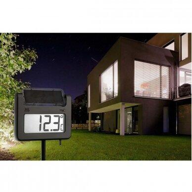 Skaitmeninis sodo termometras su saulės baterija TFA AVENUE 4