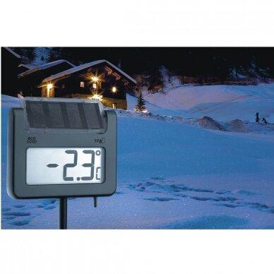 Skaitmeninis sodo termometras su saulės baterija TFA AVENUE 5