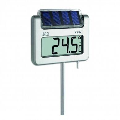 Skaitmeninis sodo termometras su saulės baterija TFA AVENUE