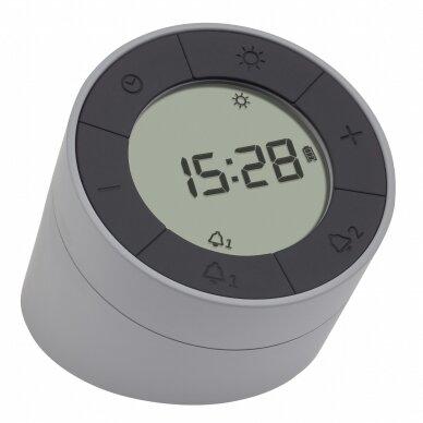 Skaitmeninis žadintuvas su naktine LED lempute TFA TIME & LIGHT
