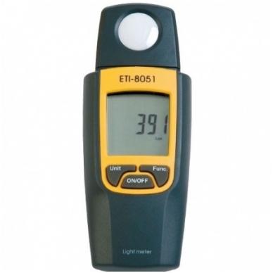 Šviesos matuoklis 8051 - Lux/FC su pasisukančiu sensoriumi ETI 825-505