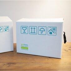 Temperatūrinė M dydžio dėžė farmacijos produktams PHARMABOXES 2°C-8°C