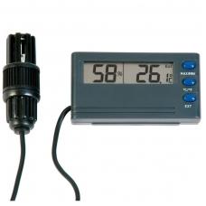 Termometras - higrometras su max/min funkcija ir aliarmu ETI 810-195