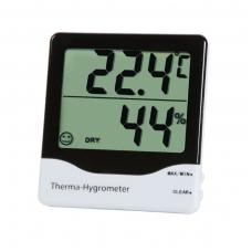 Termometras - higrometras su max/min funkcija, komforto lygio indikatoriumi ir dideliu ekranu ETI 810-145