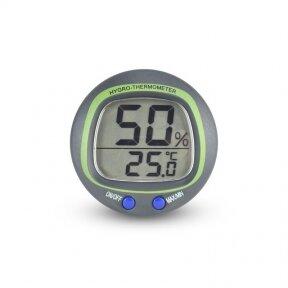 Įmontuojamas termometras-higrometras ETI 810-180