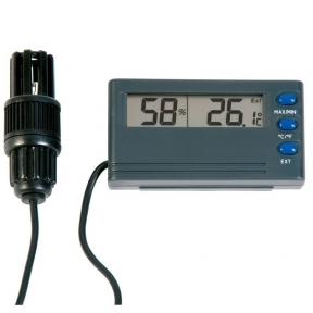 Termometras - higrometras su metrologine patikra, max/min funkcija ir aliarmu ETI 810-195