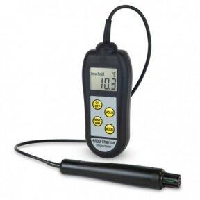 Termometras - higrometras Therma 6500 su rasos taško nustatymo funkcija ETI 224-655