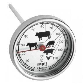 Termometras kepsniams TFA 14.1002 SU METROLOGINE PATIKRA