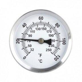 Magnetinis termometras radiatoriams ir vamzdžiams ETI 800-950