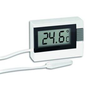 Termometras su 2.5m zondu vidaus ir išorės temperatūroms matuoti TFA 30.2018.02