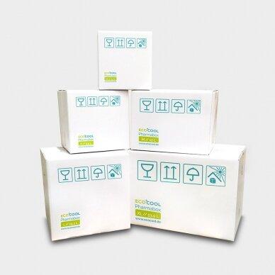 Temperatūrinė S dydžio dėžė farmacijos produktams PHARMABOXES 2°C-8°C 2