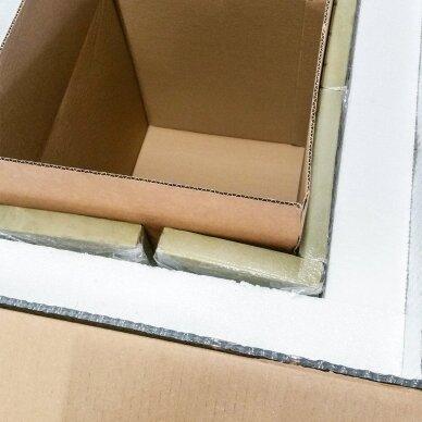 Temperatūrinė L-ii dydžio dėžė farmacijos produktams PHARMABOXES 2°C-8°C 6