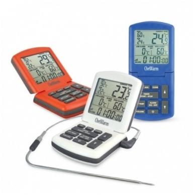 Termometras ChefAlarm skirtas kepiniams su laikmačiu ETI 810-041