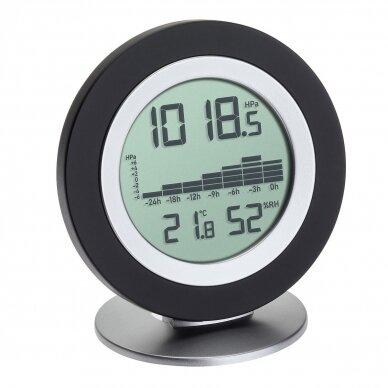 Bevielė orų stotelė: termometras-higrometras-barometras TFA COSY BARO