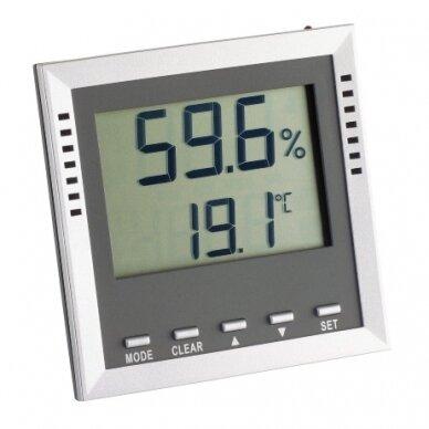 Profesionalus itin tikslus termometras-higrometras KLIMA GUARD TFA 30-5010