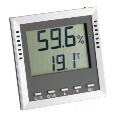 Profesionalus itin tikslus termometras-higrometras SU METROLOGINE PATIKRA KLIMA GUARD TFA 30-5010