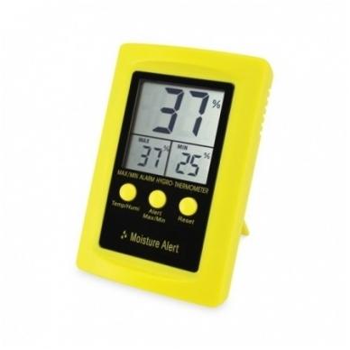 Termometras - higrometras SU METROLOGINE PATIKRA ETI MoistureAlert 810-170