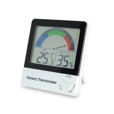 Termometras - higrometras su METROLOGINE PATIKRA, max/min funkcija ir komforto lygio indikatoriumi ETI 810-150 2