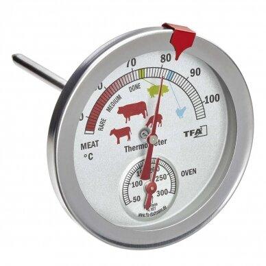 Termometras kepsniams SU METROLOGINE PATIKRA TFA 14-1027