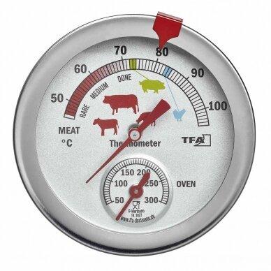 Termometras kepsniams SU METROLOGINE PATIKRA TFA 14-1027 2