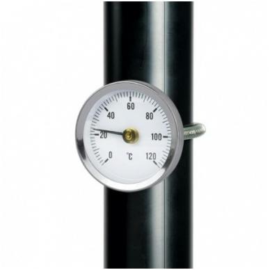 Termometras paviršiaus temperatūrai matuoti SU METROLOGINE PATIKRA ETI 800-971 2