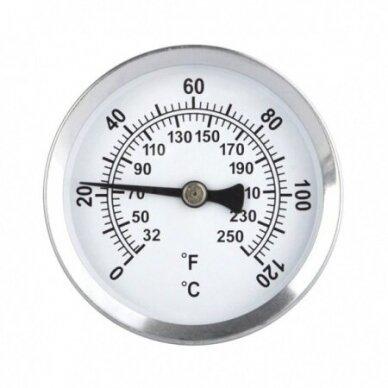 Magnetinis termometras radiatoriams ir vamzdžiams SU METROLOGINE PATIKRA ETI 800-950