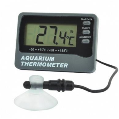 Termometras skirtas akvariumui su zondu, max/min funkcija ir temperatūros aliarmu ETI 810-920