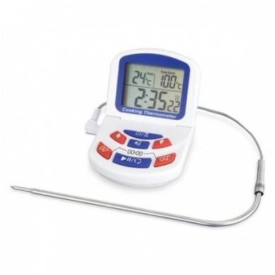 Termometras orkaitėms su laikmačiu ir aliarmu ETI 810-060