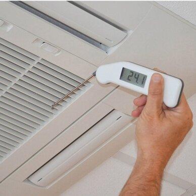 Termometras su oro matavimo zondu Thermapen Air ETI 231-214 3