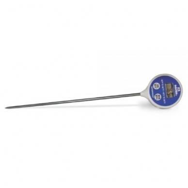 Termometras skysčiams su 20 cm. ilgio zondu su METROLOGINE PATIKRA DeltaTrak FlashCheck® Digital Lollipop