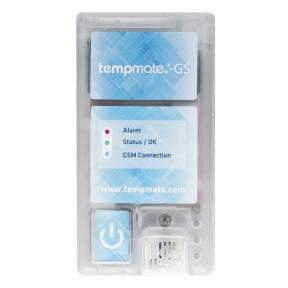 Vienkartinis realaus laiko temperatūros, drėgmės, šviesos ir smūgių registratorius TEMPMATE GS